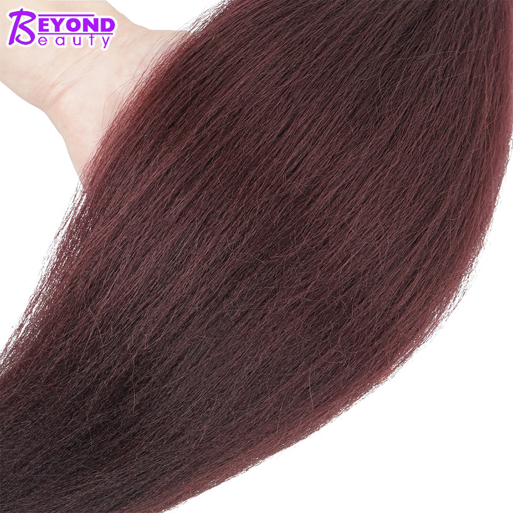 Hair Braids Jumbo Braids Professional Pre-stretched 100% Kanekalon Ez Braid Beyond Beauty Perm Yaki Texture Itch Free Low Temperature Fiber
