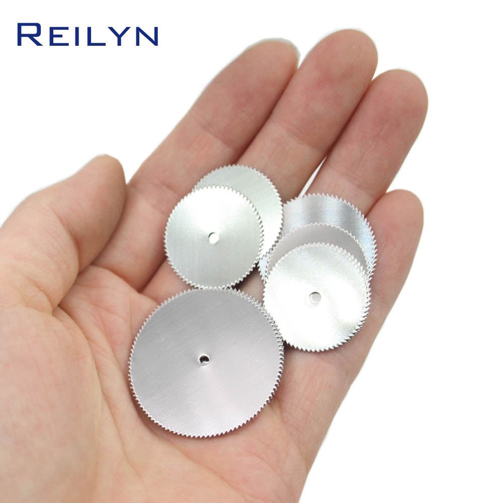 Free Shipping 10 Pcs Stainless Steel Saw Blade 22mm/25mm/32mm  Dremel/rotary Tool Mini Saw Bit Cutting Wood/plastic/metal