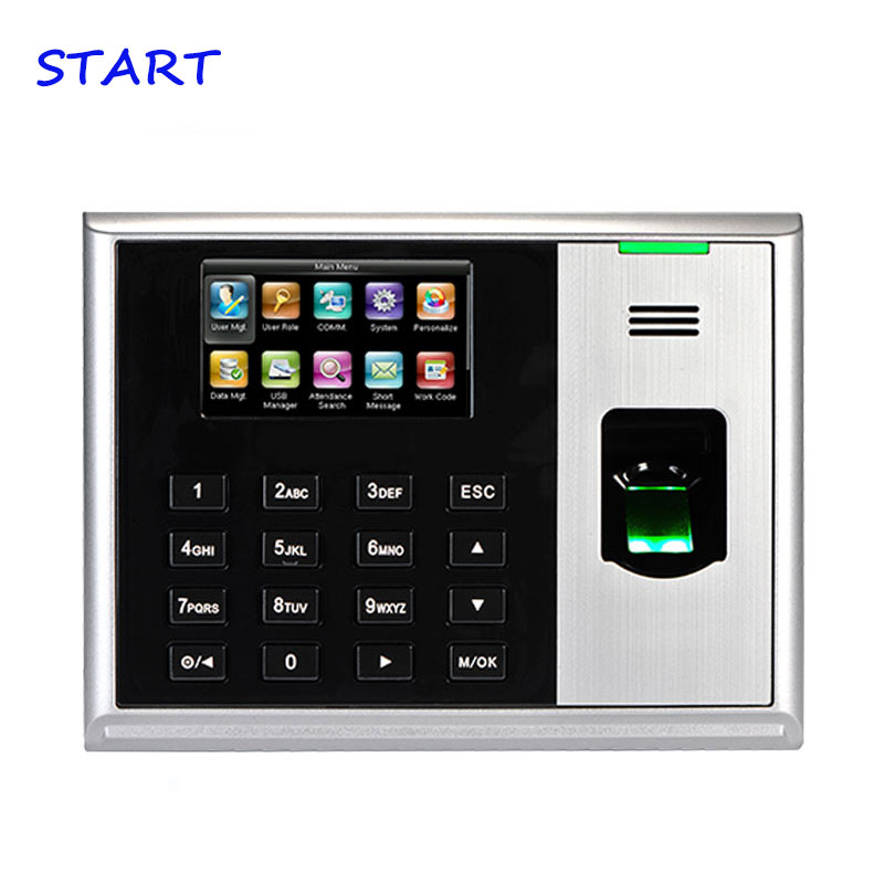 ZK S30 Biometric Fingerprint Time Attendance Linux System TCP/IP Employee Attendance Time Recording Time Clock System