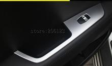 AJUSTE PARA 2014-2017 Para Hyundai ix25 (creta) ABS Interior Puerta Reposabrazos Elevalunas Botón Cubierta de Moldeo ajuste