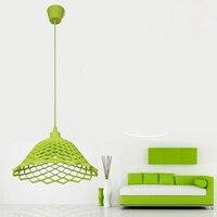 Modern Color Pendant Lights E27 Holer AC90 260V Silica Gel Material Restaurant Bedrooms Shop Store Art