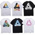 Camiseta Homens 1:1 de Alta Qualidade Palácio palácio Skates Camisetas 100% Algodão Verão Estilo Manga Curta Causal Tee Palácio T camisa