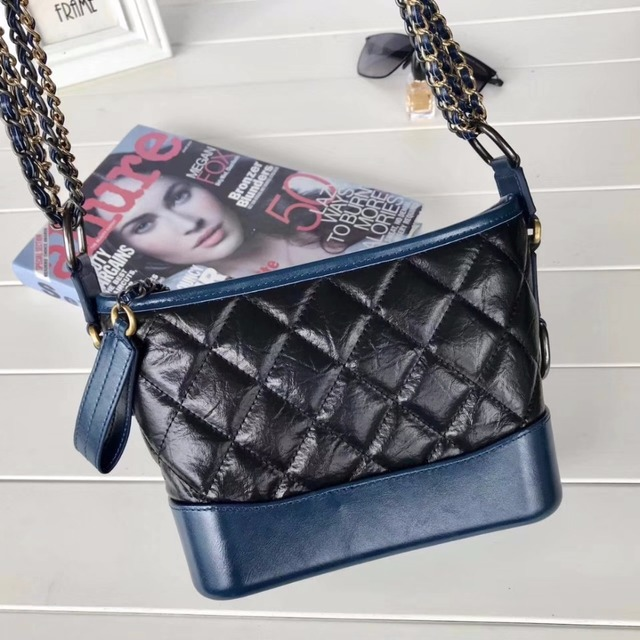 1195fb9b21e2e6 Classic Women Lambskin Genuine Leather chain crossbody bag Gabrielle Bag  Small Size 91810