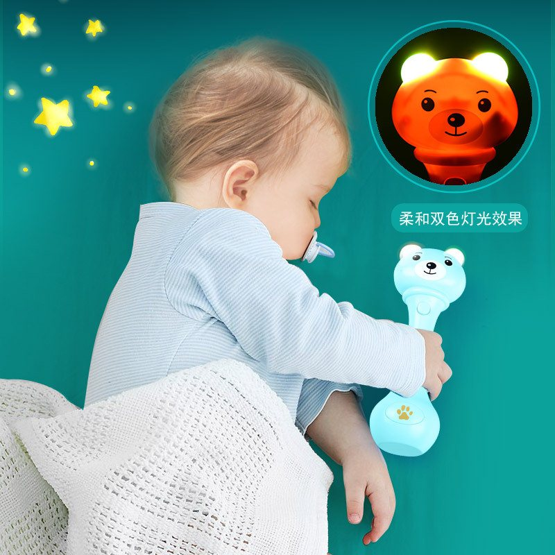 Baby Hand Rattle Toy 0 – 1 Year Old Music Rhythm Stick Boys and Girls Baby 3 – 6 – 8 – 12 Months Puzzle Children's Toys