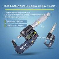 Digital Caliper 0 100mm with Scale Function Vernier Caliper Electronic Micrometer Metric Conversion Data Storage Measuring Tool Calipers    -