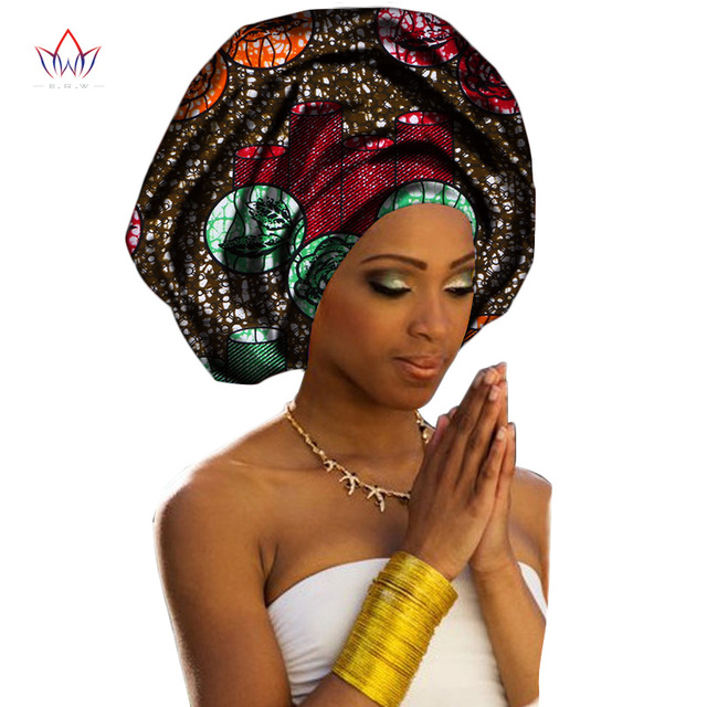 2018 New Fashion African Headwraps For Women Sweet Head ...