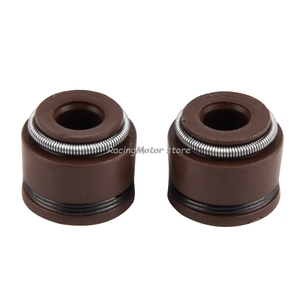 Image 2 - NICECNC 5mm Engine Valve Stem Oil Seal For Honda C70 CL70 XL70 SL70 CA175 CB175 CB450 CL90 CT90 S90 CB750 Z50A XR250R CRF230 ##