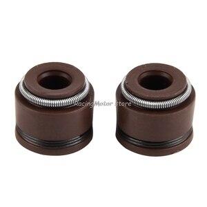 Image 2 - NICECNC 5mm Motor Ventil Stem Öl Dichtung Für Honda C70 CL70 XL70 SL70 CA175 CB175 CB450 CL90 CT90 S90 CB750 Z50A XR250R CRF230 # #
