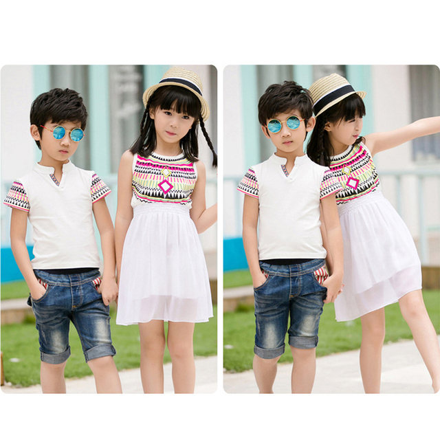Mother And Daughter Beach Dresses And Father Son Summer T Shirts Family Matching Outfits 2019 Summer Fashion Outfits Family Look Family Matching Outfits Kid (3+ years) Shop by Age