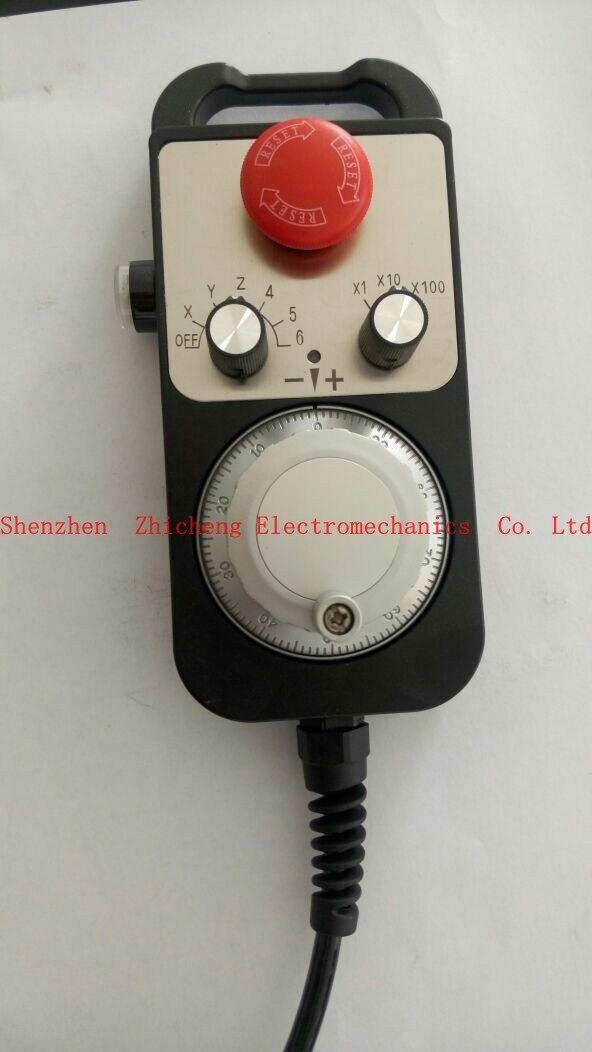 Cnc poignée générateur d'impulsions codeur de roue avec codeur d'urgence cnc 100PPR