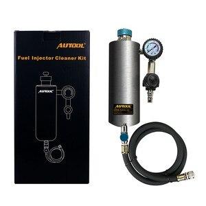 Image 2 - AUTOOL C80 האוטומטי הדלק Injector דלק מזרק מנקה מכונת כביסה כלי ללא פירוק