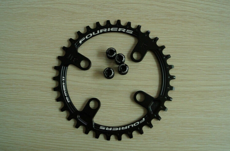 FOURIERS MTB Chainring Chain guard Mountain Bicycle Parts Chainwheel Crankset 30T/32T/34T/36T carbon crankset chainwheel for mtb