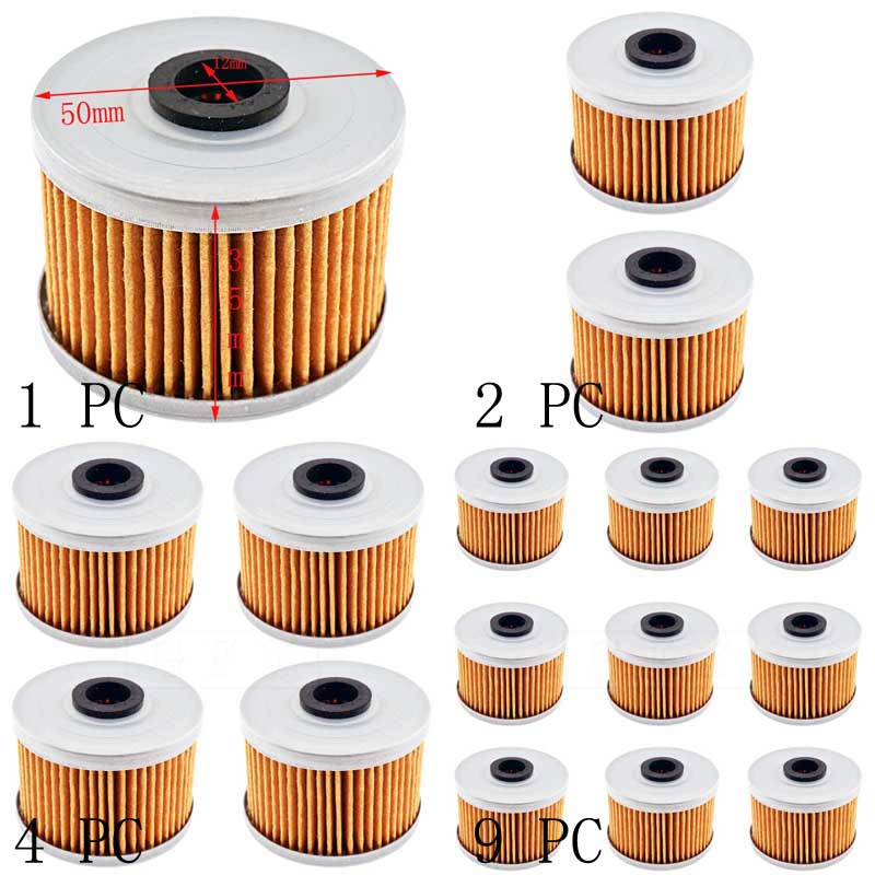 Oliefilters Oil Filter for 2009 Kawasaki KLX 250 S T9F