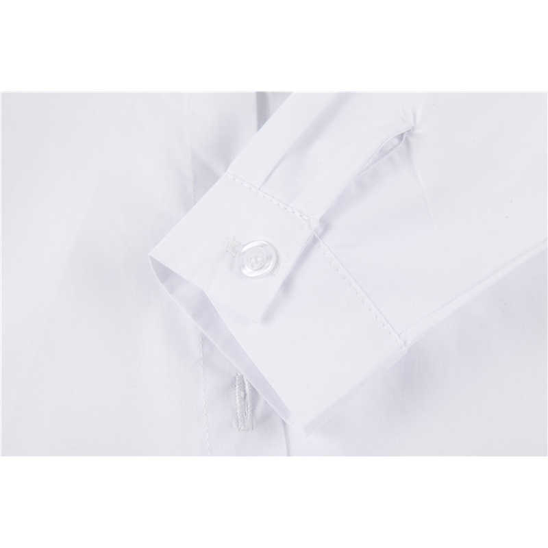 BEKE MATA/белые школьные блузки для девочек, осень 2018 г., Детская рубашка с вышивкой Совы детская блузка с длинными рукавами От 3 до 11 лет