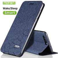 Huawei Honor 9 Case Cover Silicon Luxury Flip Leather Original Mofi Huawei Honor 9 Case 5