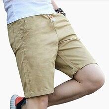 Summer Cotton Shorts Men Fashion Brand Boardshorts Breathable Male Cas