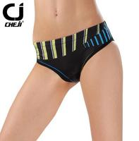 CHEJI  Ourdoor Women Cycling Underwear Briefs Bicycle Bike 3D Padded Triangle Shorts