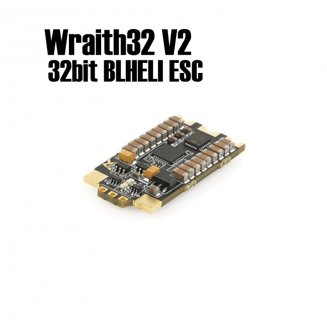 1 piece Wraith32 V2 32bit BLHELI ESC For Professional Player And RC Helicopter Quadcopter Multirotors omnibus aio f7 v2 flight controller board and 4 pieces wraith32 32bit blheli esc for fpv quadcopter drone frame
