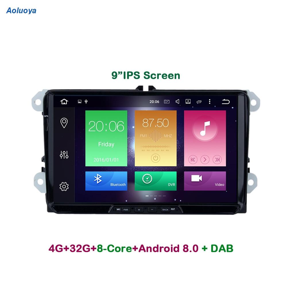 Aoluoya IPS 4GB RAM 32G Octa jezgra Android CAR DVD GPS player za - Automobilska Elektronika