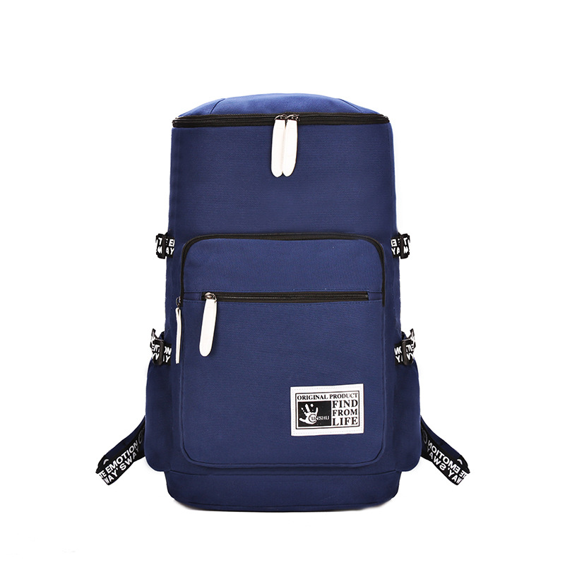 ФОТО CHAR CHO The new practical large capacity travel  bag men men and women casual canvas backpack bag cc66