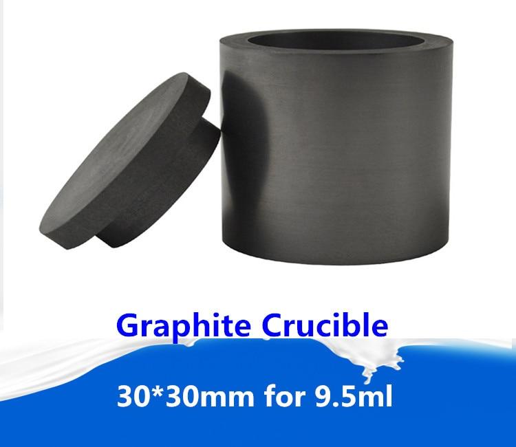 Graphit tiegel für 9,5 ml casting schmelzen raffination/Tiegel Zum schmelzen platin ofen, freies verschiffen 2 stücke
