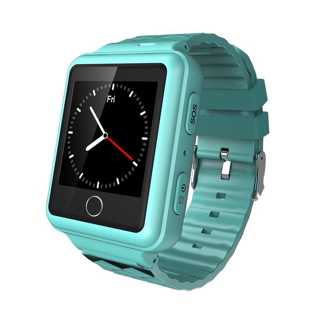 1 44 Touch Screen Smart Watch GPS Tracker RF V38 Waterproof IP67 Two way Call Geo