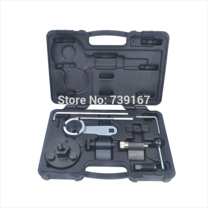 Engine Timing Crankshaft Locking Setting Tool Kit For VW Audi Seat Skoda VAG 1.6 & 2.0L TDI ST0196  high quality diesel engine timing locking tool for vag 2 7