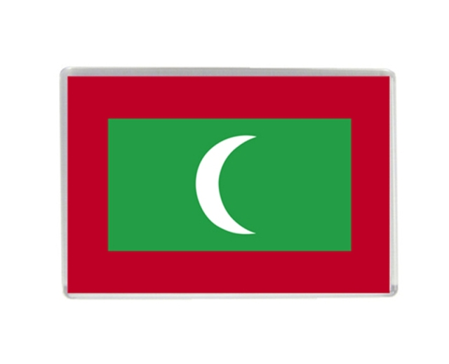 Maldives flag quality acrylic fridge magnets exquisite world tourism souvenirs refrigerator magnetic stickers collection