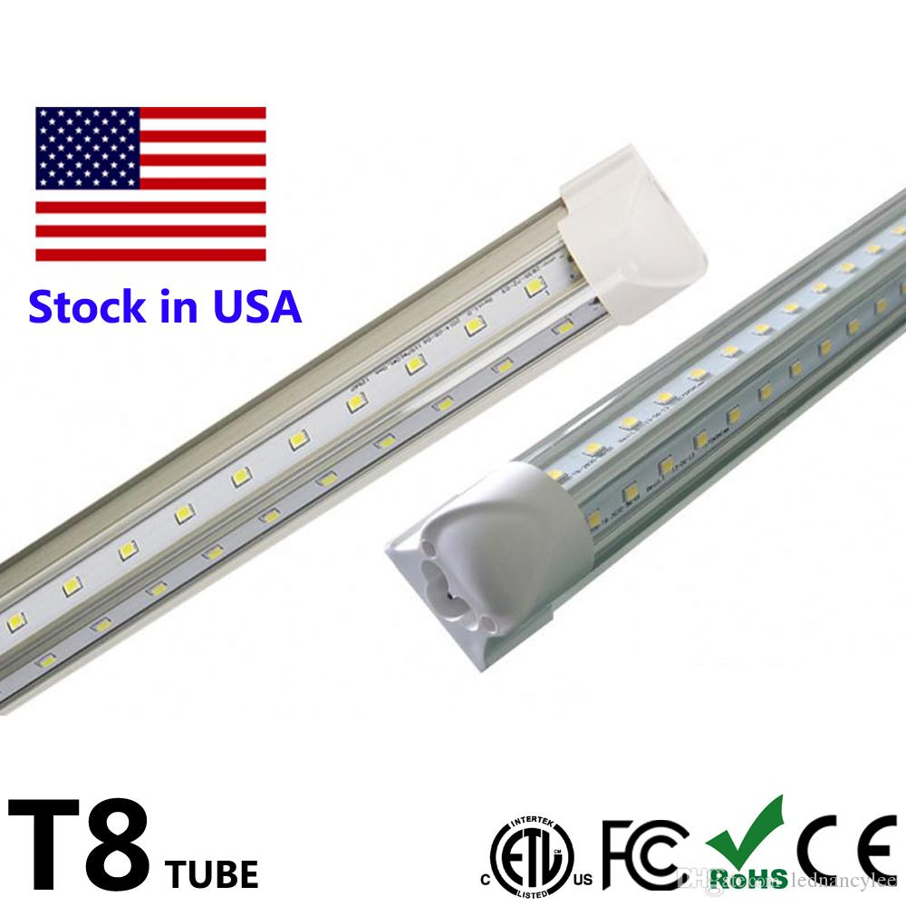 4ft T8 Led Tube V Shape Integrate 2ft 4ft 5ft 6ft 8ft Tube