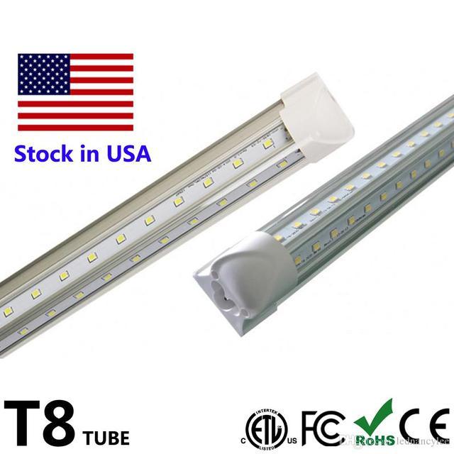 4ft T8 LED Tube V Shape Integrate 2ft 4ft 5ft 6ft 8ft Tube T8 ...