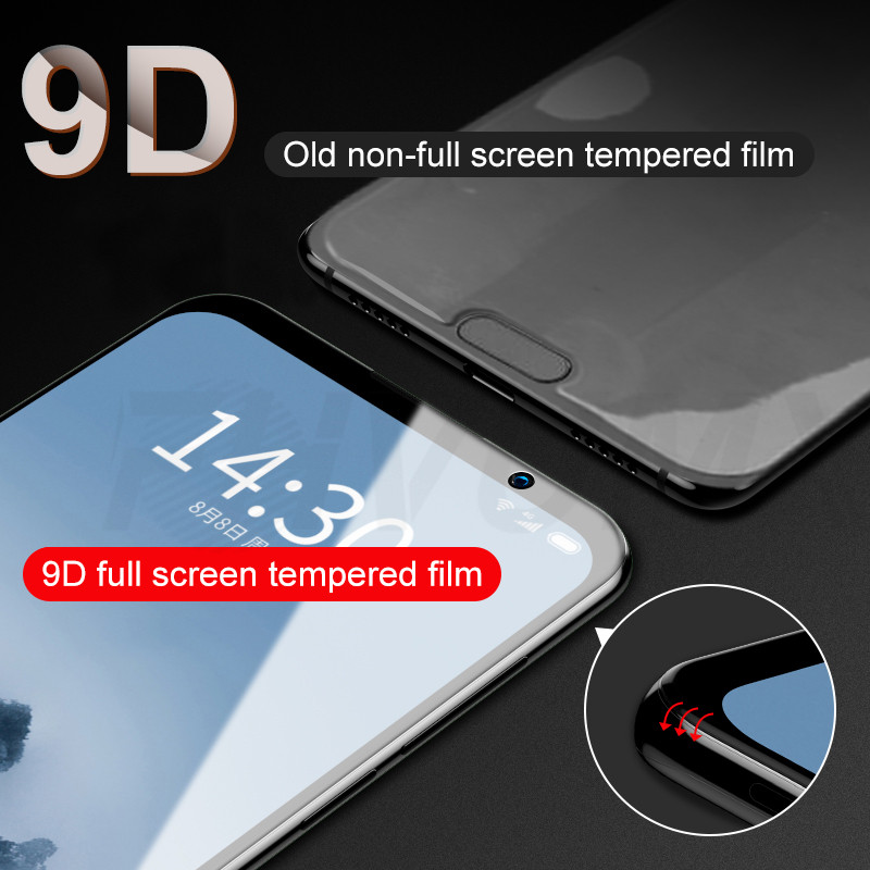 9D Protective Glass on the For Meizu M15 M6 M6S M6T M6 Note 15 Lite 15 16 Plus 16th 16x 16s Tempered Screen Protector Glass Film