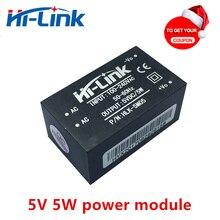 送料無料 5 ピース/ロット HLK 5M05 220 ボルト 5 ボルト 1A AC DC 絶縁型スマートパワーモジュール電源ホームオートメーション