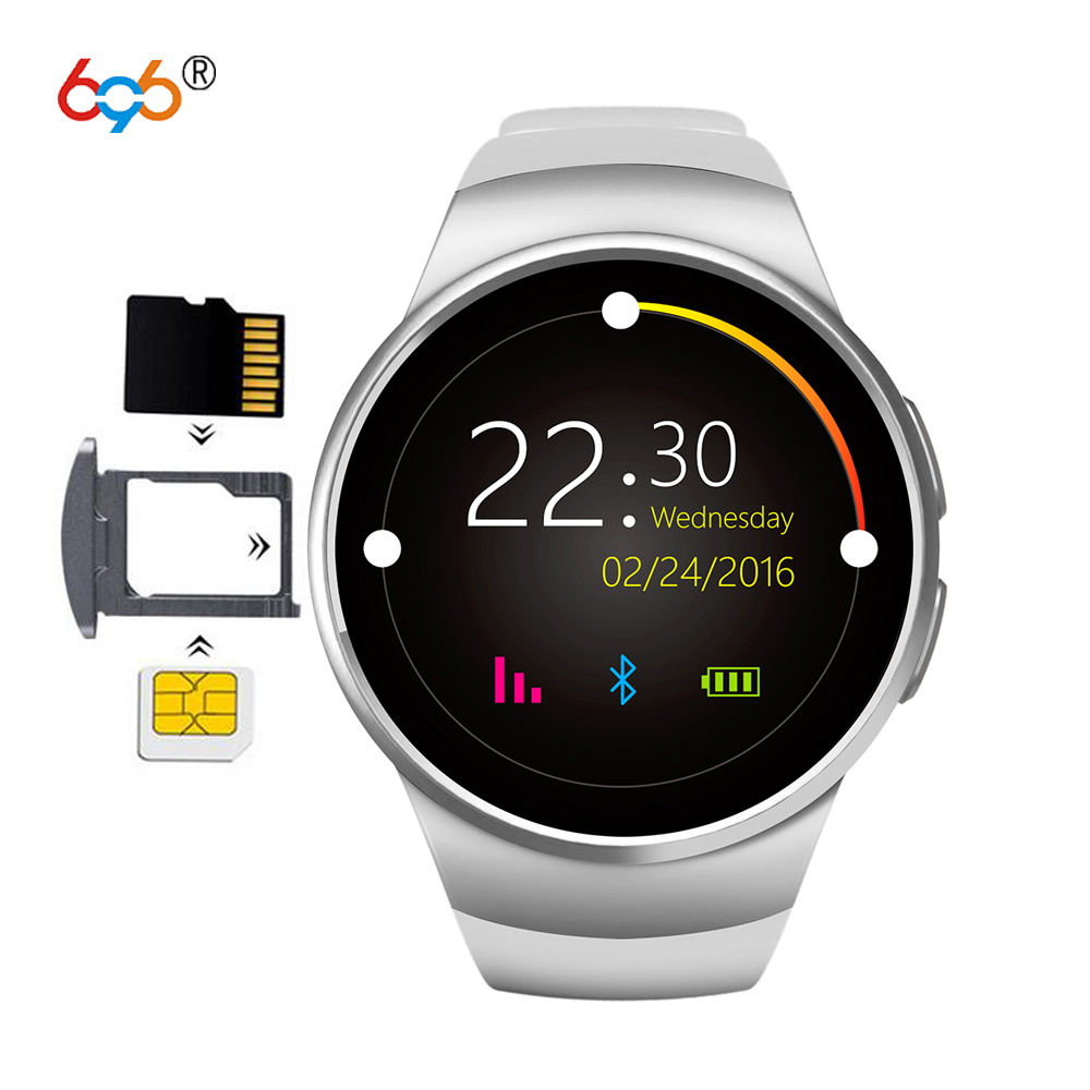 696 KW18 Bluetooth Smartwatch 1.3 IPS LCD Watch Phone Support SIM TF Card Heart Rate Monitor Smart Watch for Men Women
