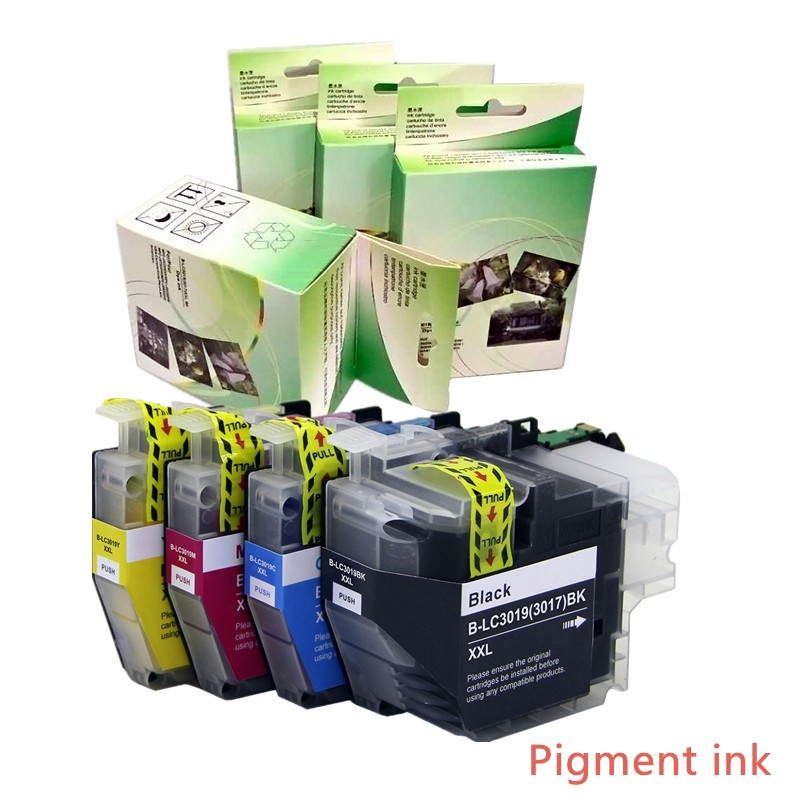 1set LC3019 LC3019XXL (LC3017) ink cartridge with pigment ink for Brother MFC-J5330DW MFC-J6530DW MFC-J6730DW MFC-J6930DW