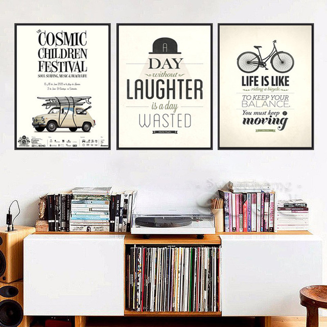 Modern Inspiring Motivational Poster Print Life Quote On Canvas Posters And Prints The Wall Company