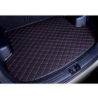 custom car trunk mat for kia k5 kia optima 2016 2017 2018 3D car styling carpet cargo liner car accessories