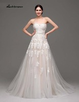 100 Real Pic New Sweetheart Elegant Wedding Dress A Line Vintage Lace Bridal Gowns Vestido De