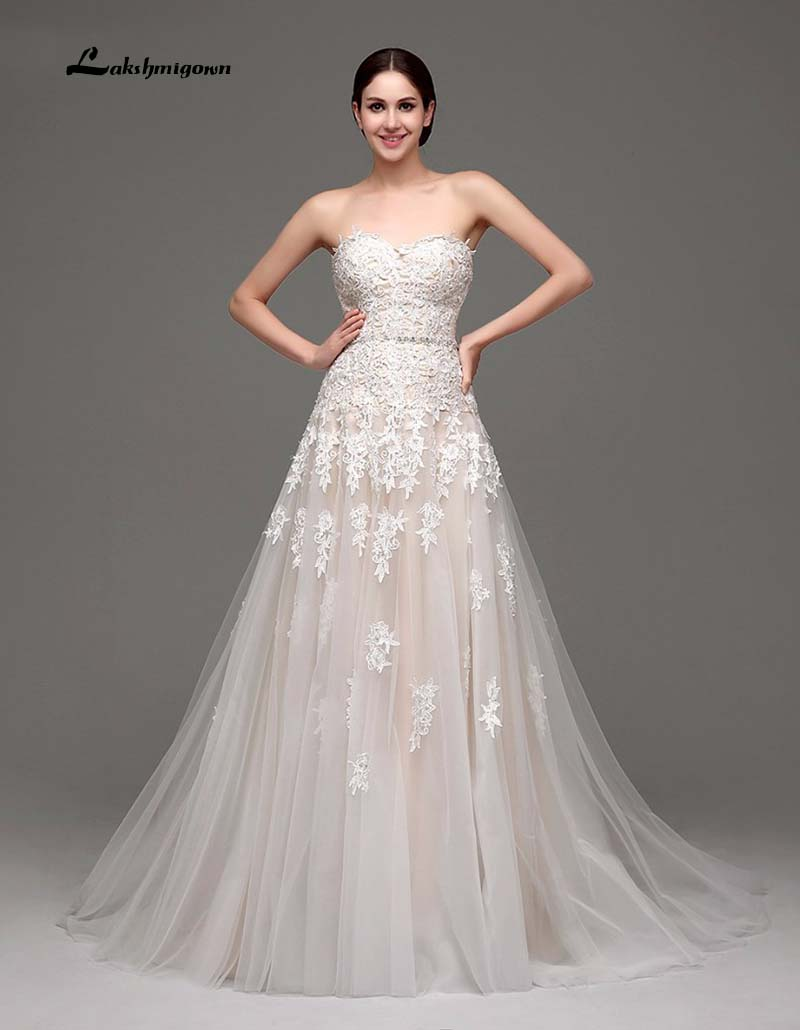 100 Real Pic New Sweetheart Elegant font b Wedding b font font b Dress b font