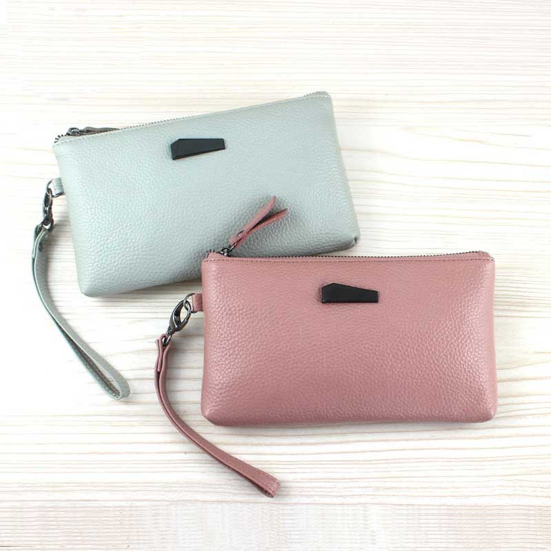Women Crocodile Leather Clutch Handbag Bag Coin Purse Clutch Female Purse New Fashion 2019 Soild Portefeuille Femme Black Blue Latest Technology Coin Purses