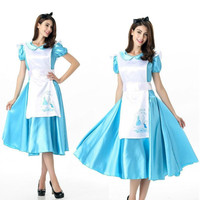 2018 New Cosplay Costumes Alice in Wonderland lolita dress anime costume maid outfits for girls