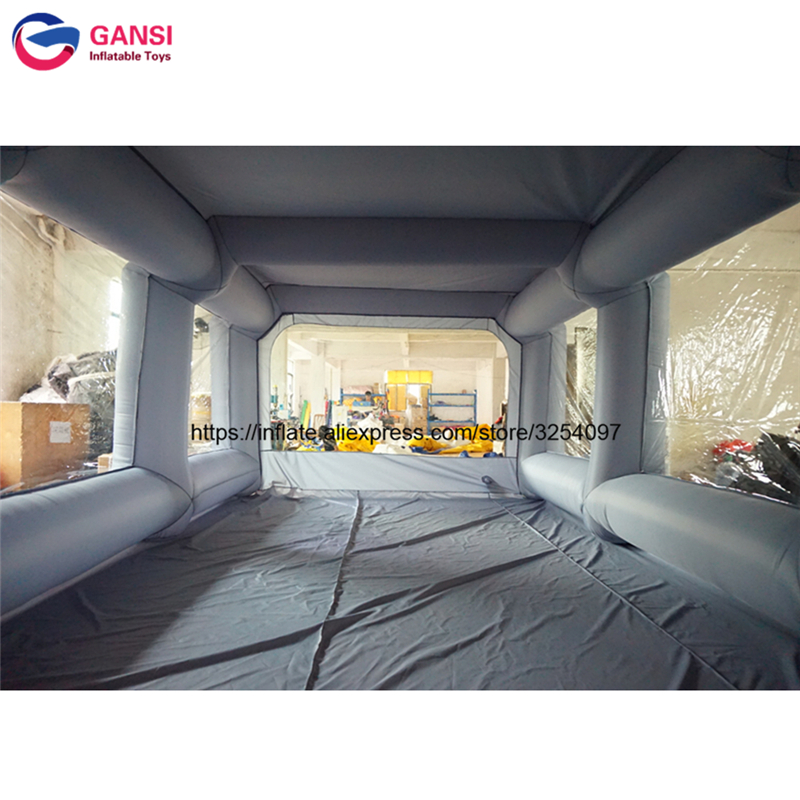 inflatable paint spray booth48