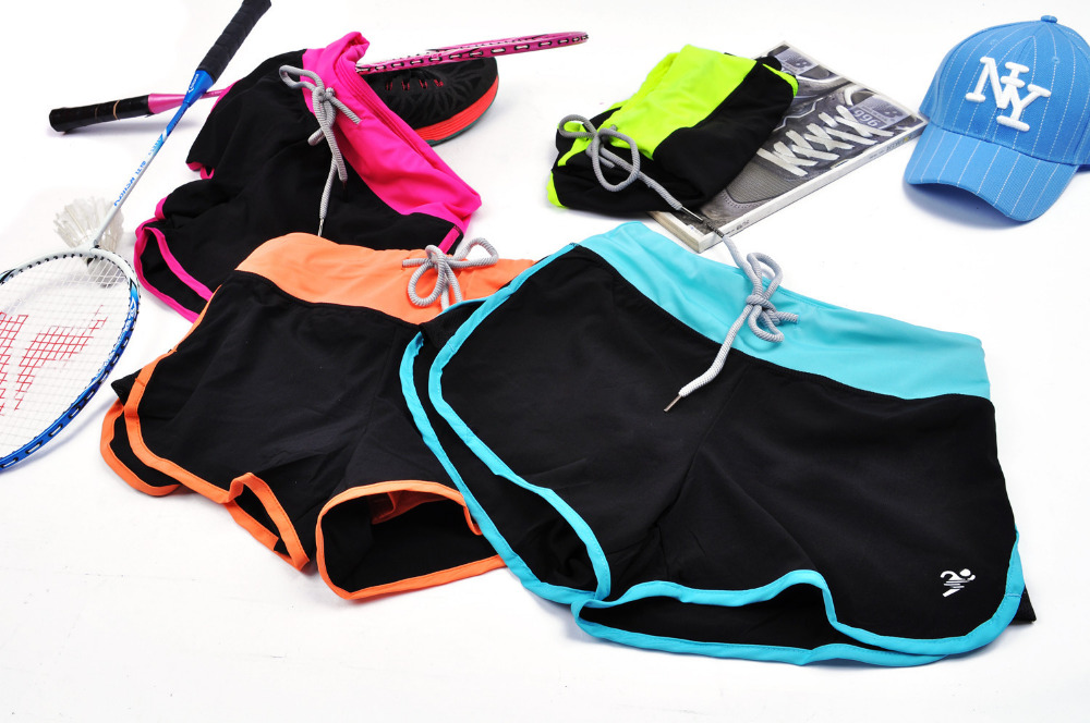 Women's short pants high-grade Quick-drying breathable Shorts Sashes sexy mini slim gym sweatpants workout clothes