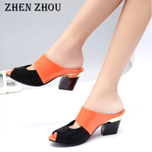 7a3abb7f7b4 zhen-zhou-shoes-2018-summner-high-heels-Fish-mouth-sandals-Thick-with-Non-slip-Mom-s.jpg_220x220.jpg
