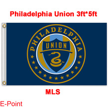 1 piece 144cm*96cm size MLS Philadelphia Union Flying flag B