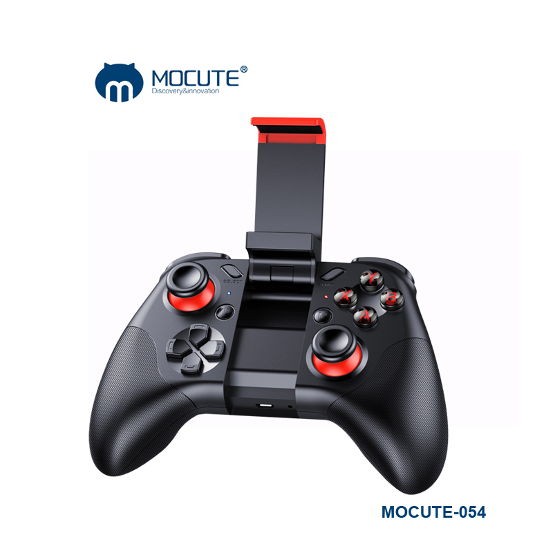 MOCUTE 054 Wireless Game Pad Protable Game Joystick Controller Gamepad For iPhone Android Smart Phone PC VR with Phone Holder