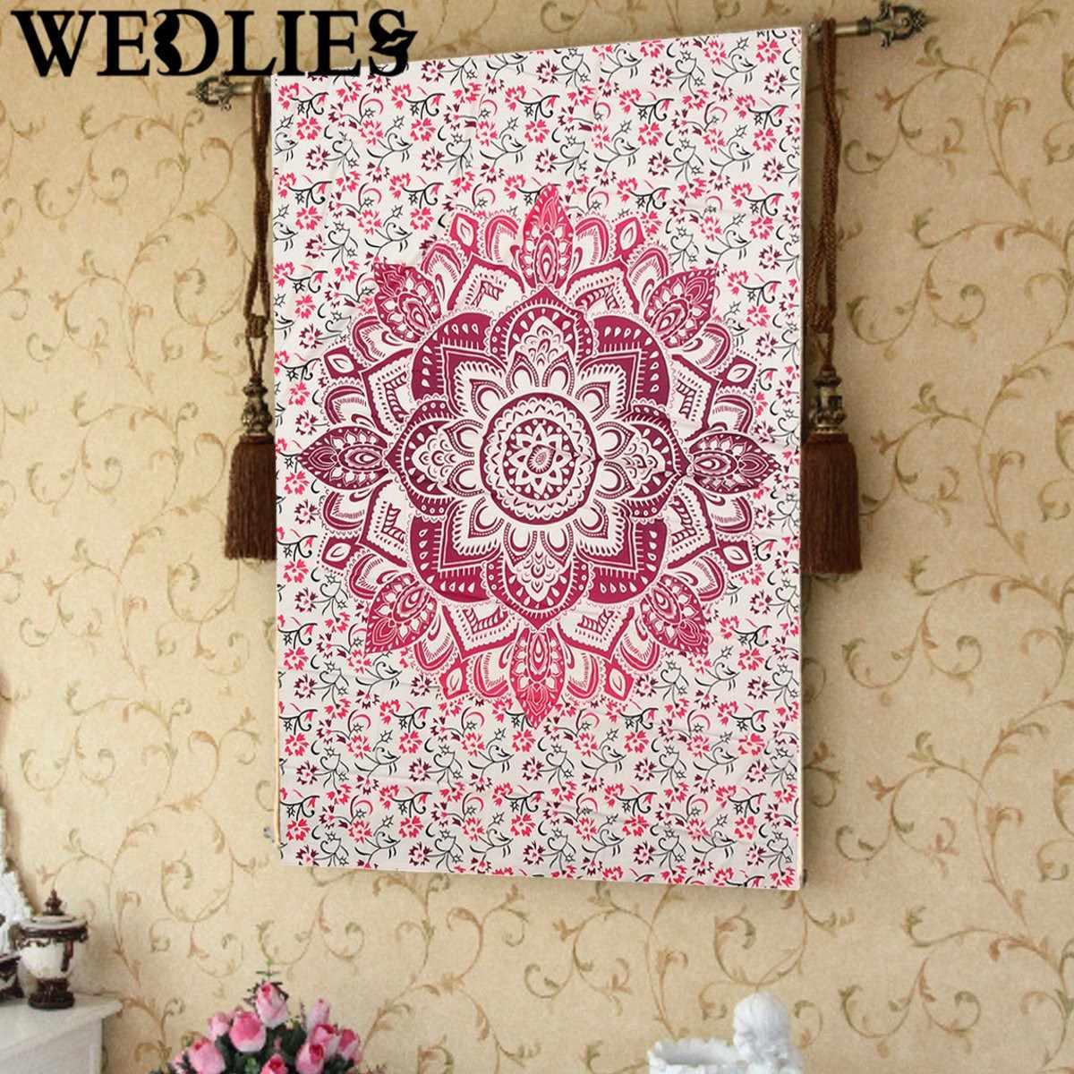 x cm tapiz tapiz floral rosa toalla de playa bohemio mantel home room decorativo accesorios de