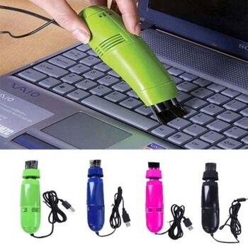 Компьютерный ноутбук Настольный вакуумный Набор для очистки пыли щетка USB очиститель клавиатуры
