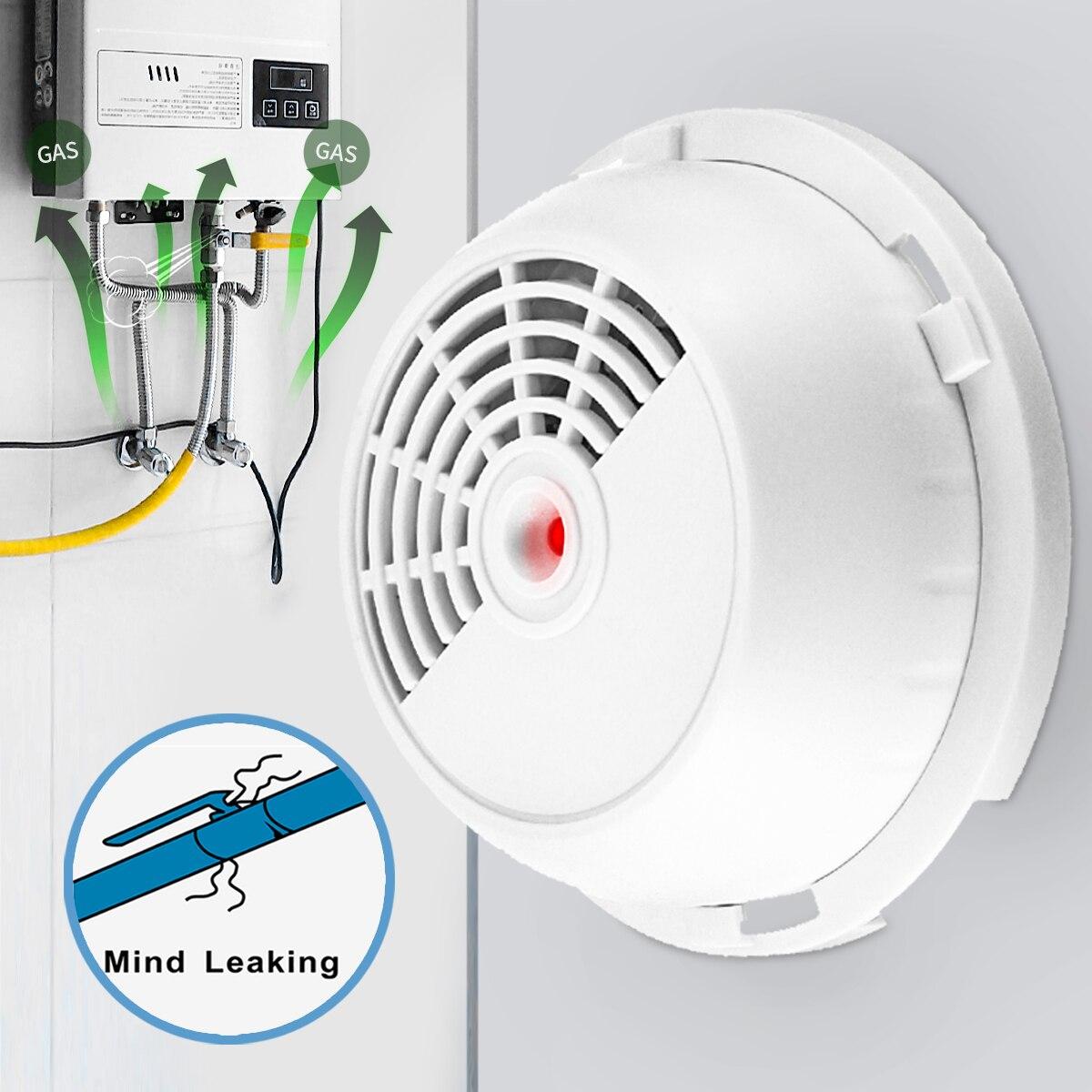 12 V Combustible LPG Natural fuga de Gas Detector Sensor de propano butano probador de fugas alarma de seguridad para el hogar seguridad herramienta