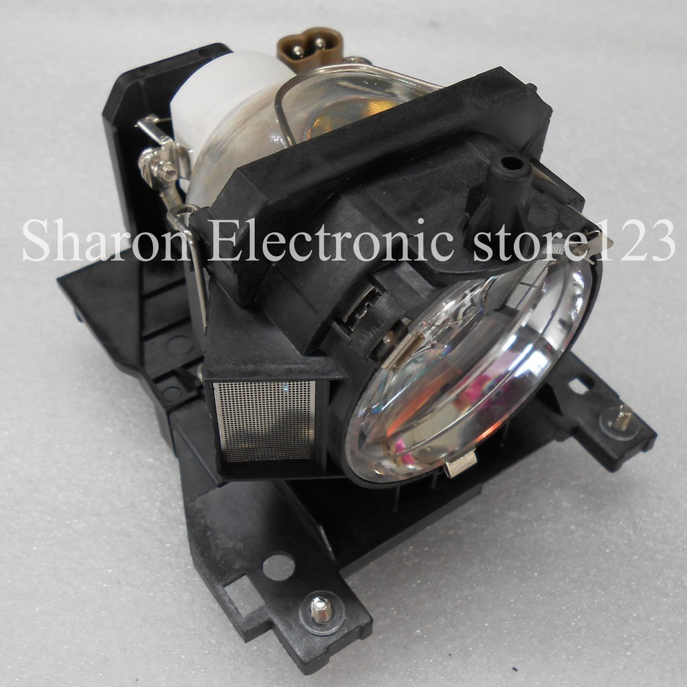 Replacement Lamp with Housing DT00911 For Hitachi CP-X201/CP-X306/CP-X401/CP-X450/CP-X301/ED-X31/ED-X33 Projector