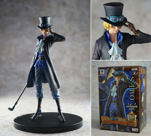 One Piece DXF Sabo Action Figures PVC Toys